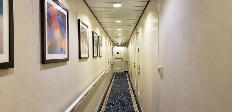 Corridor on Victory I
