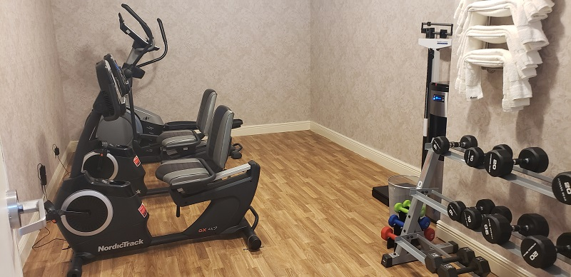Small exercise room on Victory I