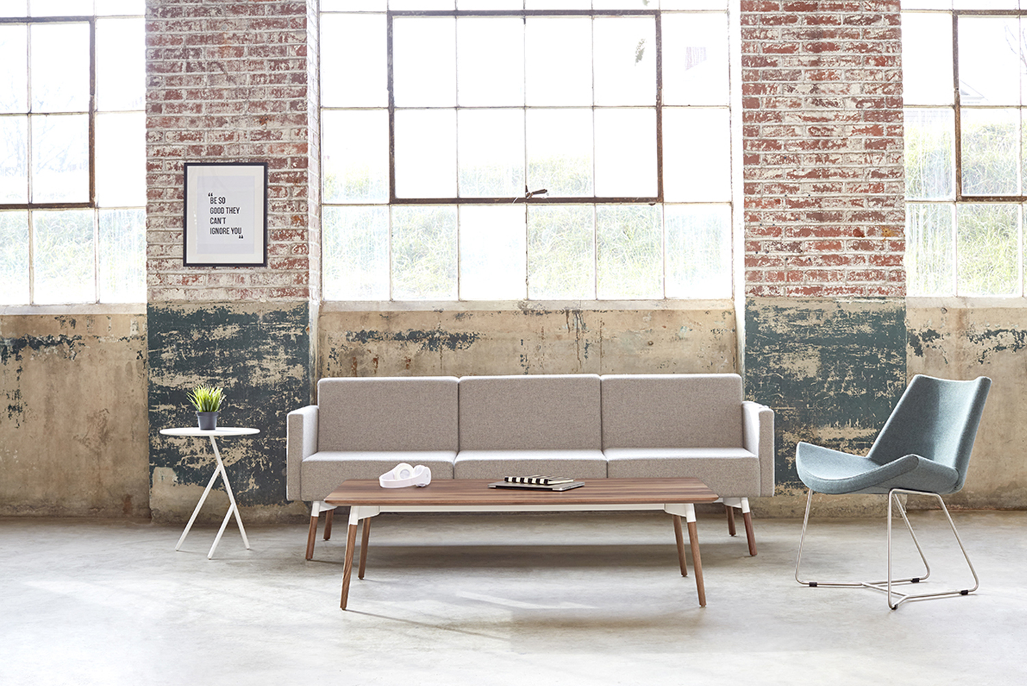 Hightower launched the Bello coffee and side tables.