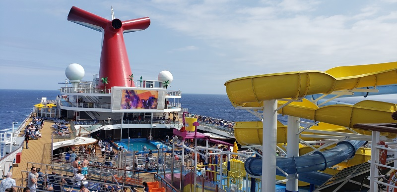 Carnival Sunrise sails this summer from New York to Bermuda. Photo by Susan J. Young