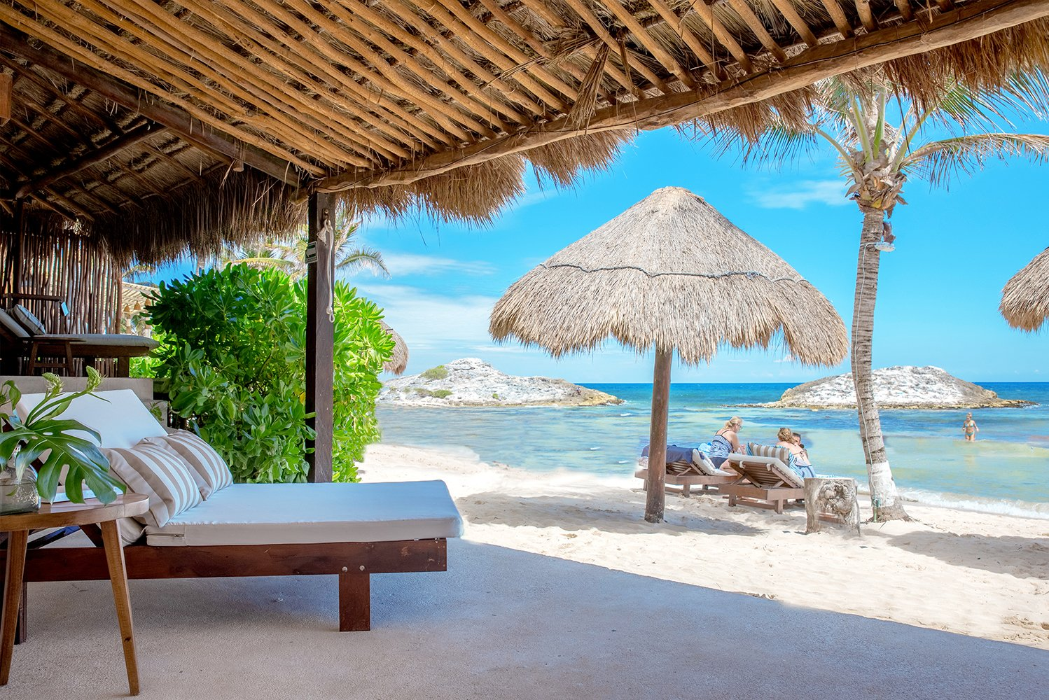 The new rooms are literally set on the sand, giving access and views of the Caribbean Sea.