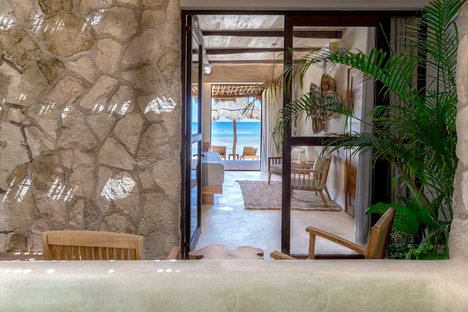 Guests staying in the new rooms also have their own private jungle garden courtyard with a plunge pool and an outdoor shower.