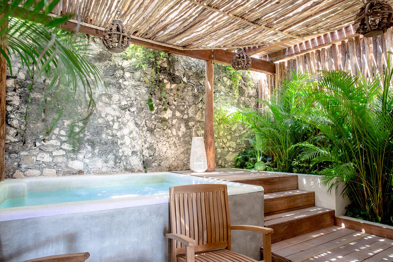 The suites were designed by Colibri Boutique Hotels' interior designer Delfina Porras.