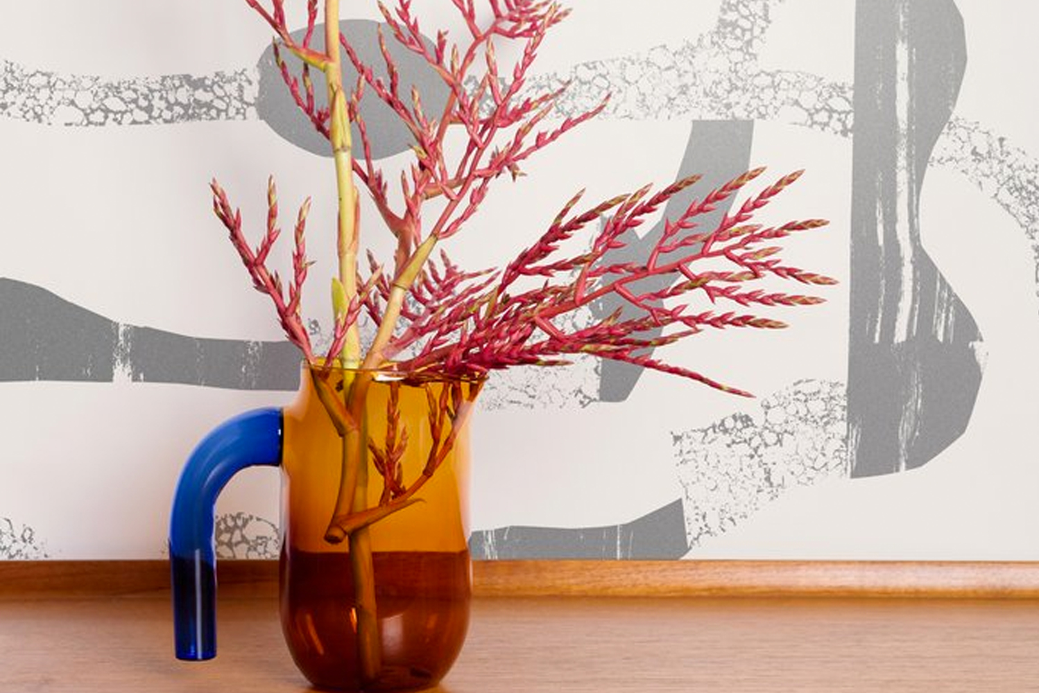 Avery Thatcher, the Portland, Oregon artist behind wallcovering studio Juju Papers, launched Flux.