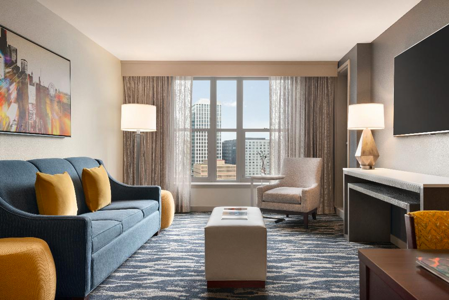 Homewood Suites by Hilton Convention Center Pike Street completed a renovation project that began in fall 2018.