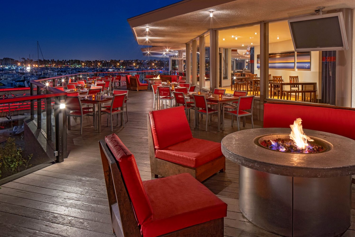 Pelican's on the Bay, formally SWIM Bar & Lounge, is now open and located at the hotel's pool deck, with both al fresco and covered seating.