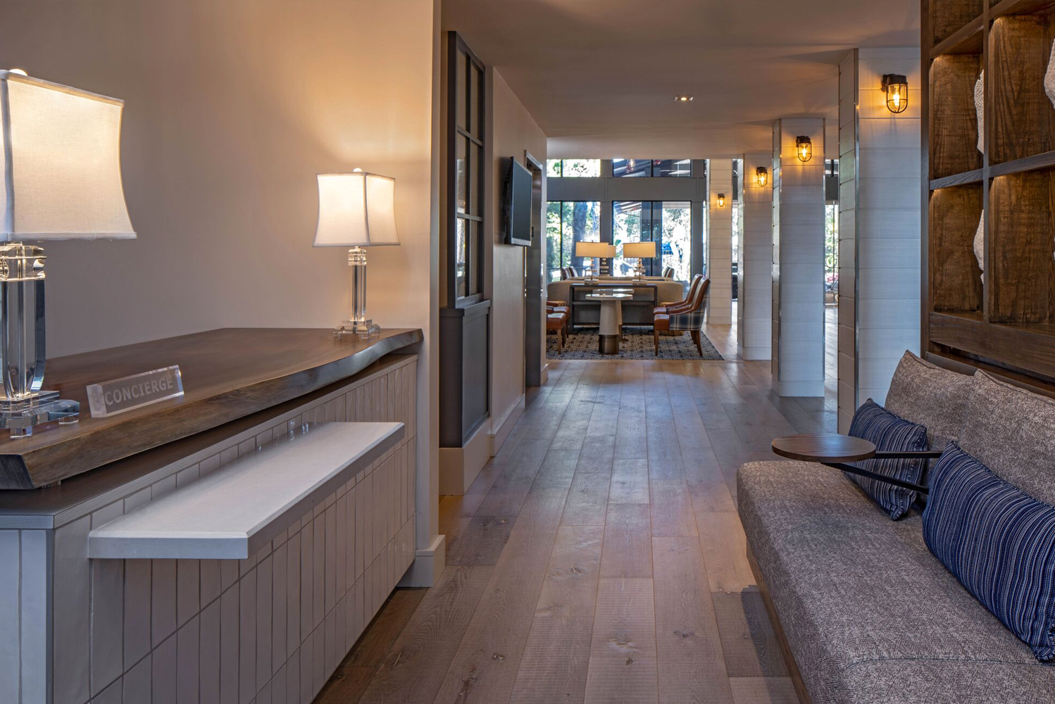 Following the renovation, changes were made to the property's 438 guestrooms, Blue Marble Spa, pool deck, two dining outlets and nearly 16,000 square feet of meeting space.