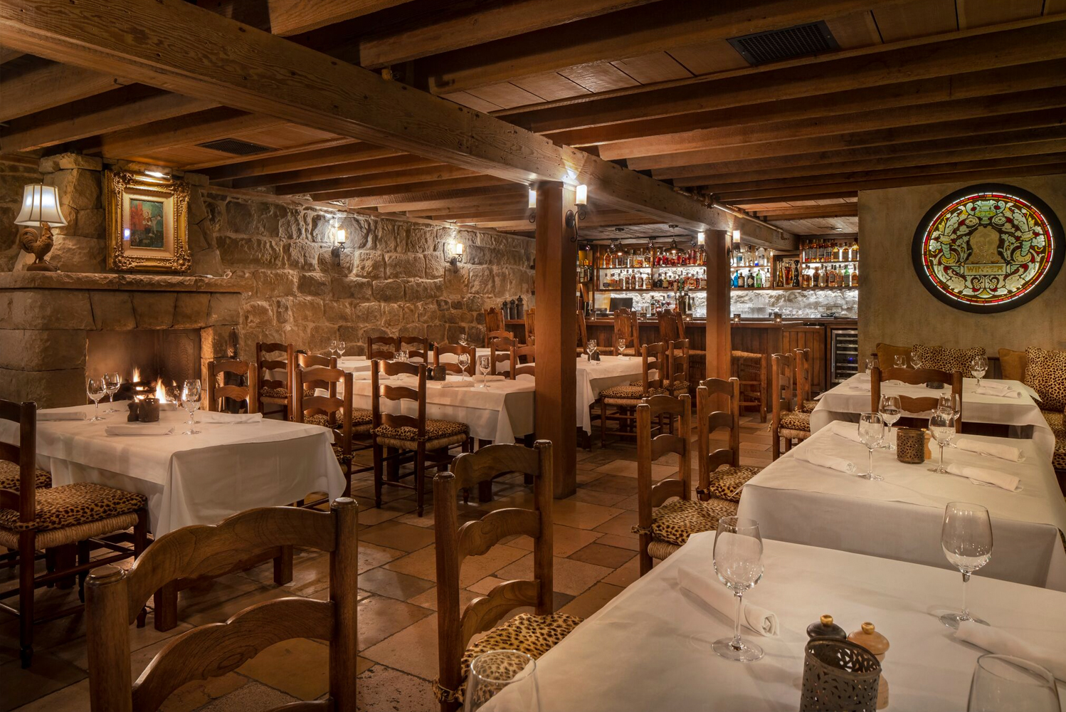 For dining, the property has The Stonehouse and Plow & Angel, which is located in a 19th century citrus packing house.