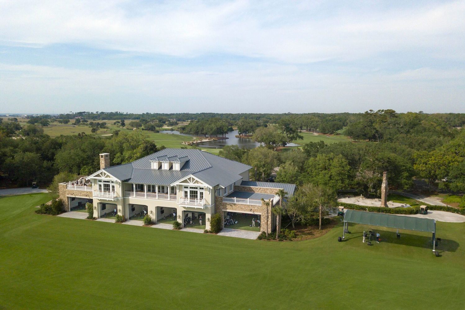 The Golf Performance Center is part of a nearly $30 million enhancement program at The Lodge at Sea Island.