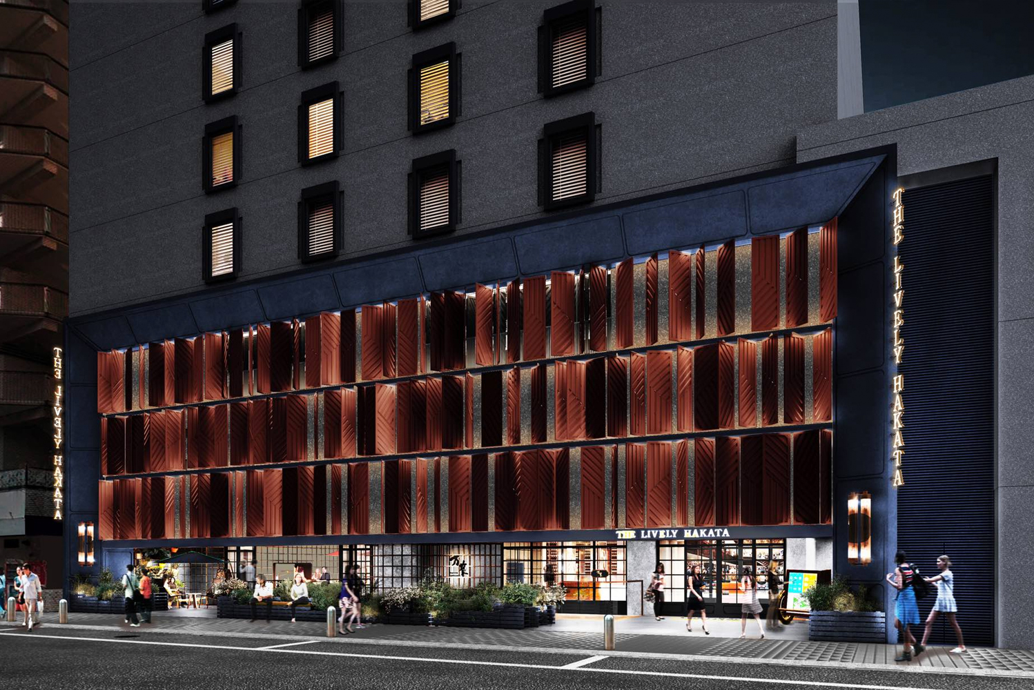 The Lively Hakata hotel will be Global Agents' first location for this new series of lifestyle hotels.