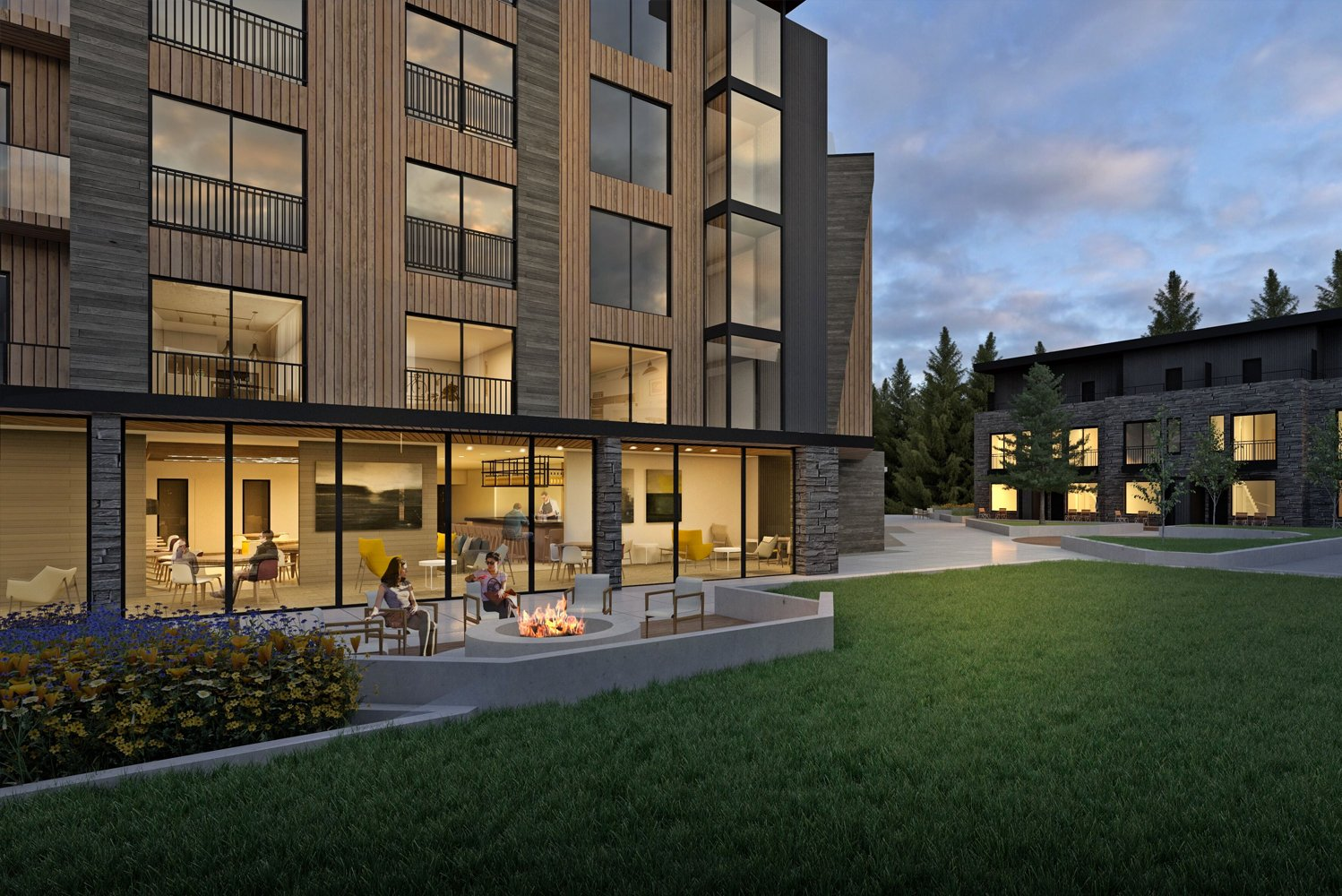 The property will have a seamless indoor-outdoor experience for owners and guest.