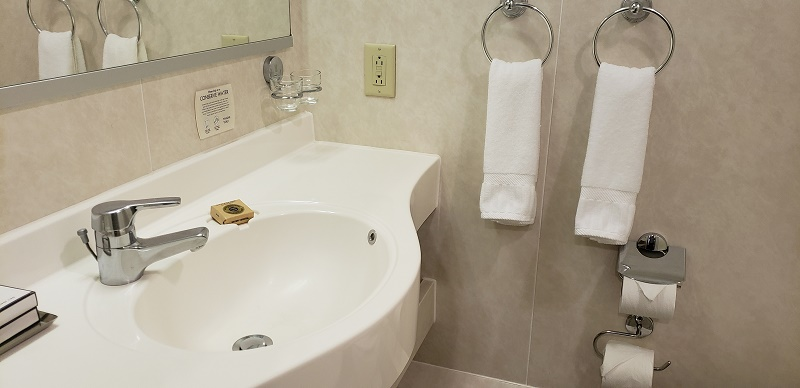 Bathroom in #324