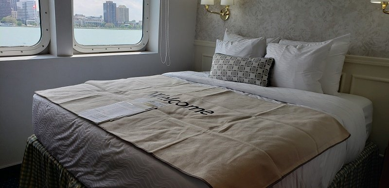 Large, comfortable mattresses were just added by Victory Cruise Lines