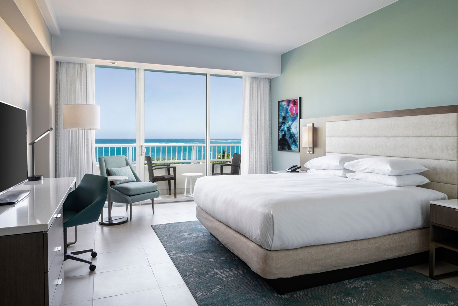 San Juan, Puerto Rico's Caribe Hilton completed a more than $150 million restoration following a 15-month closure.