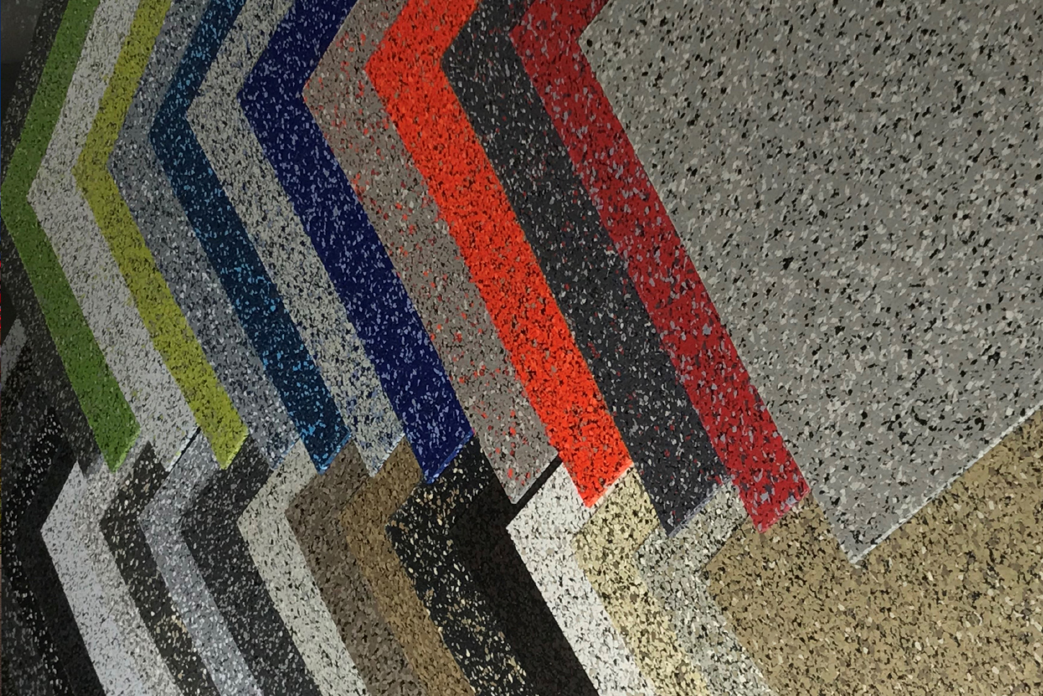 Ecore streamlined its ECOsurfaces product offering to include 32 colors.