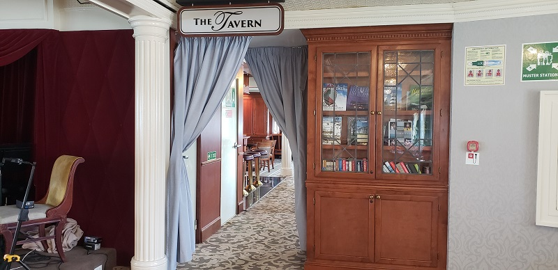Entrance to The Tavern