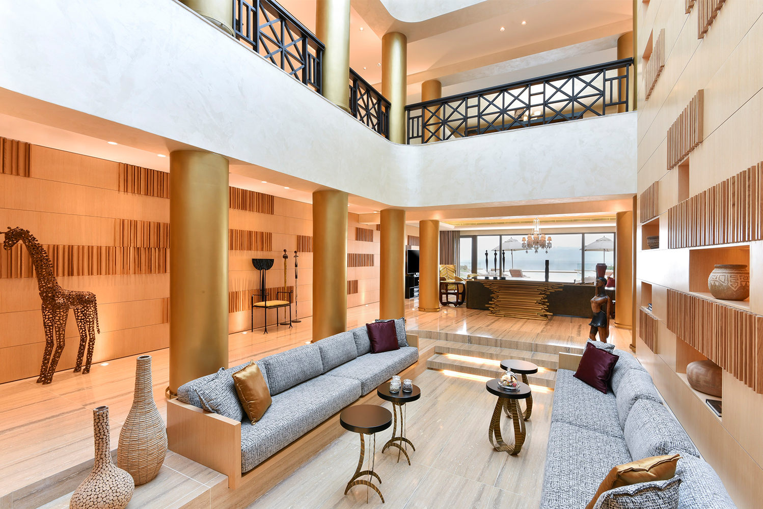Kempinski Hotel Ishtar Dead Sea – a property located in the Dead Sea, Jordan – completed a $1.5 million renovation project of its two Ishtar Royal Villas.