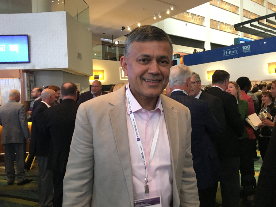 Vijay Dandapani, president/CEO of Hotel Association of New York City