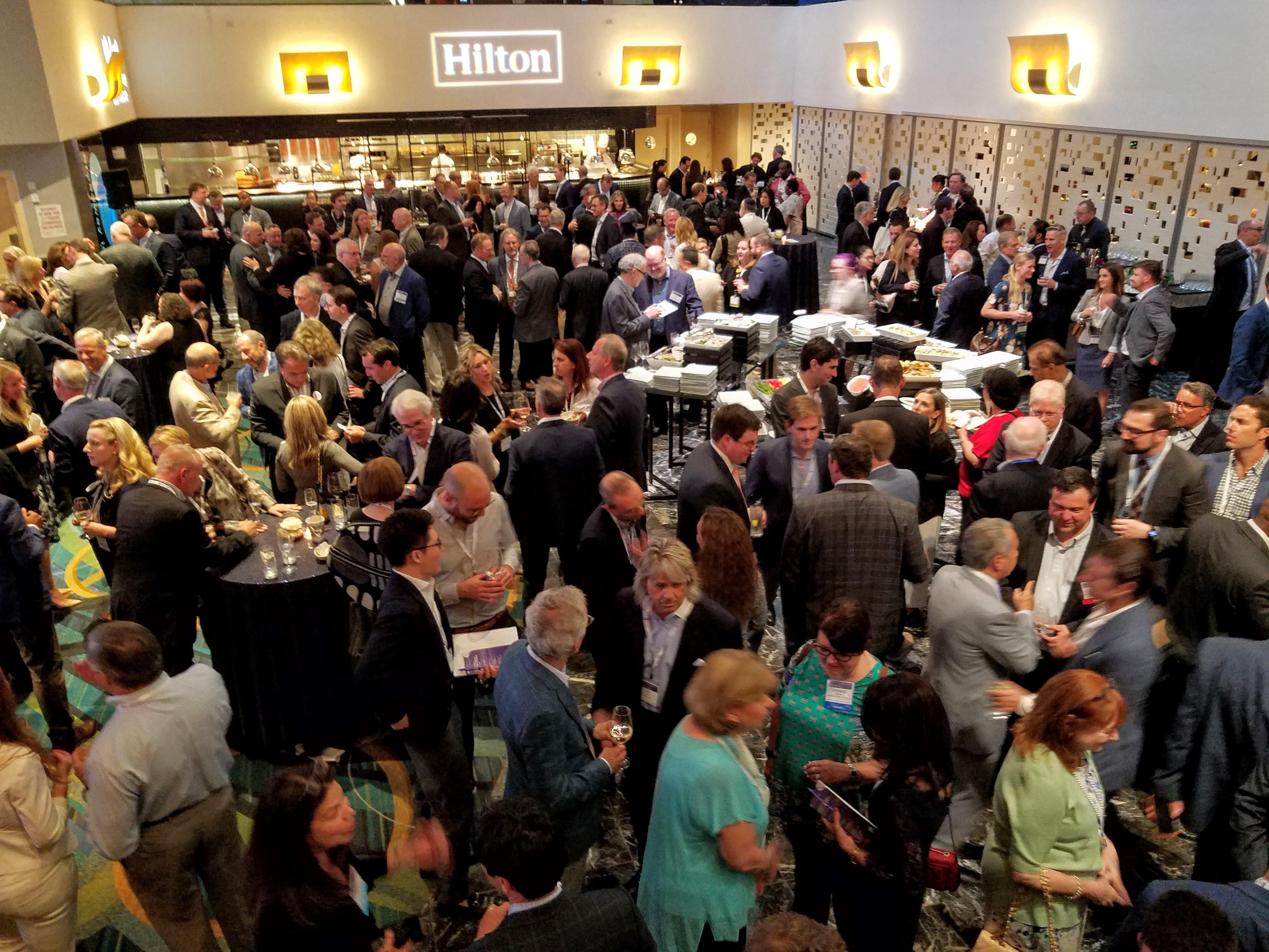 Hilton, celebrating its centenary, sponsored the opening reception.