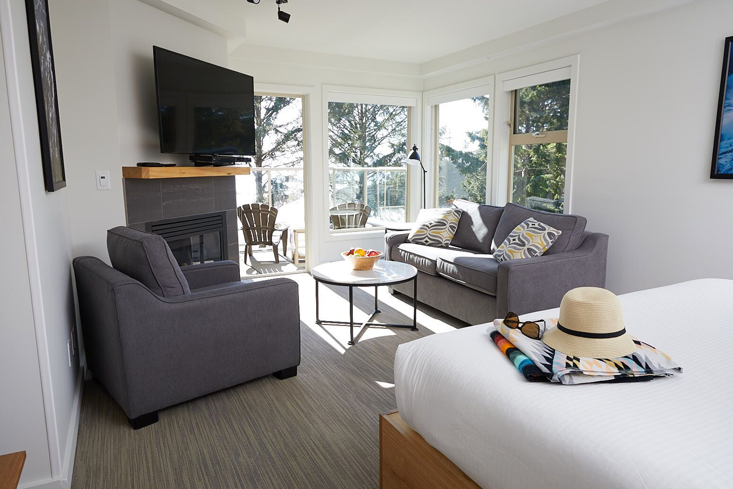Pacific Sands Beach Resort debuted new beachfront lodge suites inspired by the surrounding Tofino landscape.