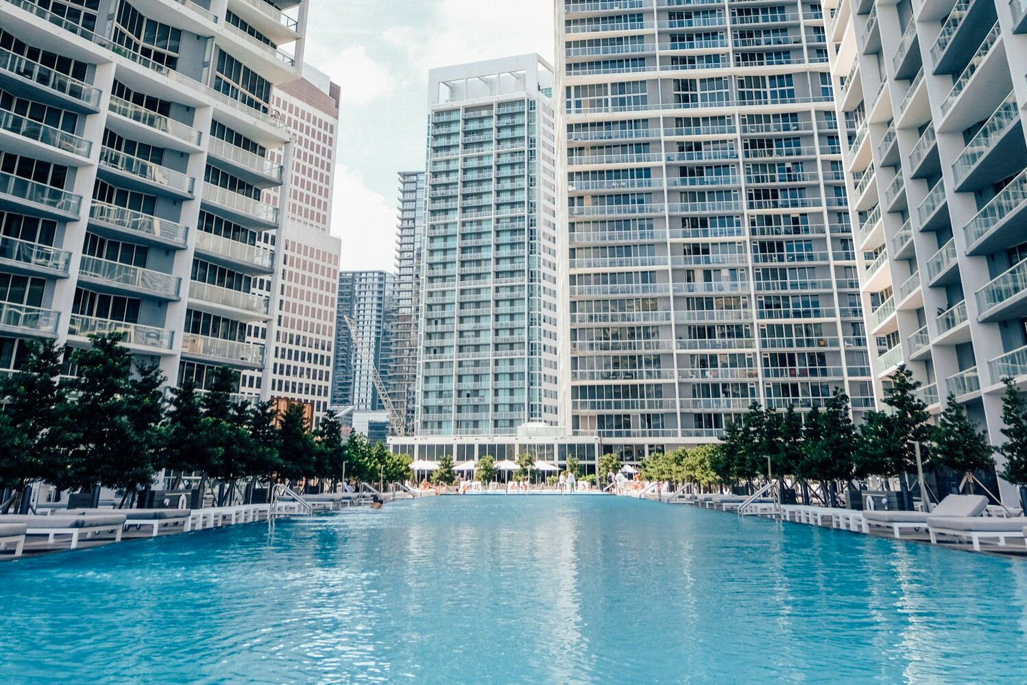W Miami also designated the 15th floor pool as the WET Deck and the hotel's official pool.