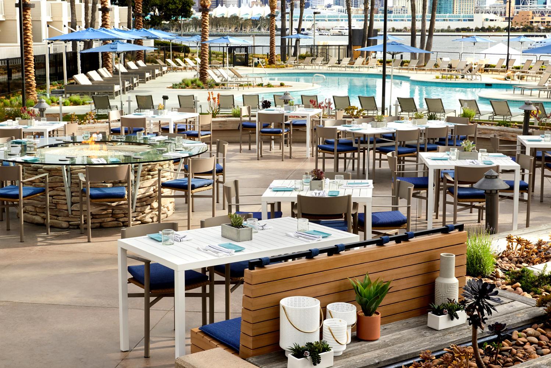 It is helmed by executive chef Rafael Corniel and restaurant chef Aaron Obregon.