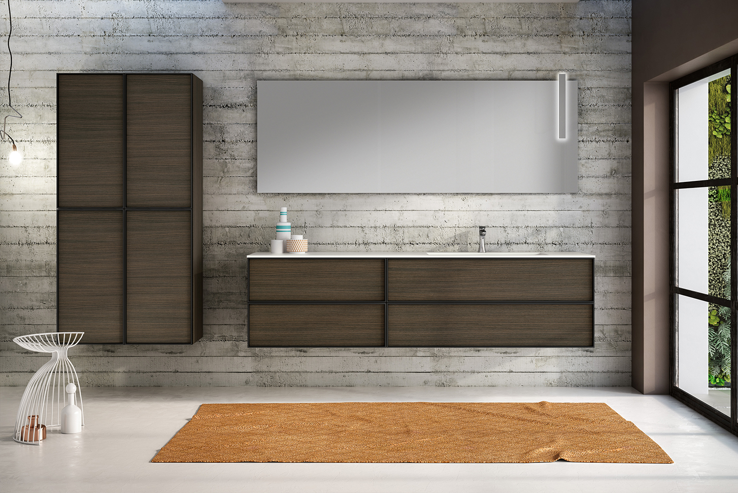 Hastings Tile & Bath launched a new modular vanity collection, Class. The