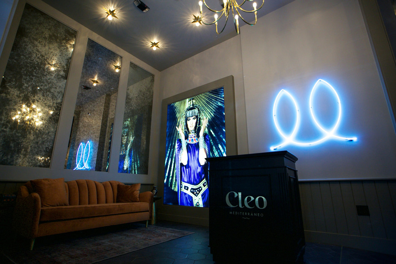 SBE reopened Cleo Mediterráneo Hollywood, the second location in Los Angeles of the culinary concept from SBE's Disruptive Group division.