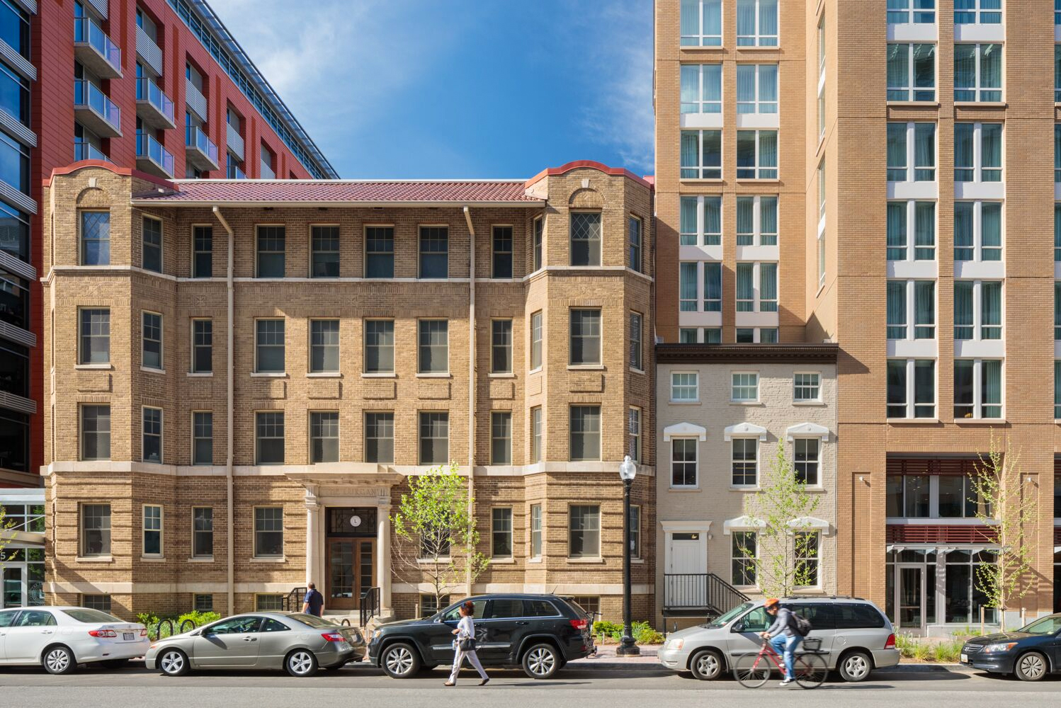 The property is a 12-story mixed-use development with hospitality, residential and retail offerings in the Shaw Historic District in Washington, D.C.