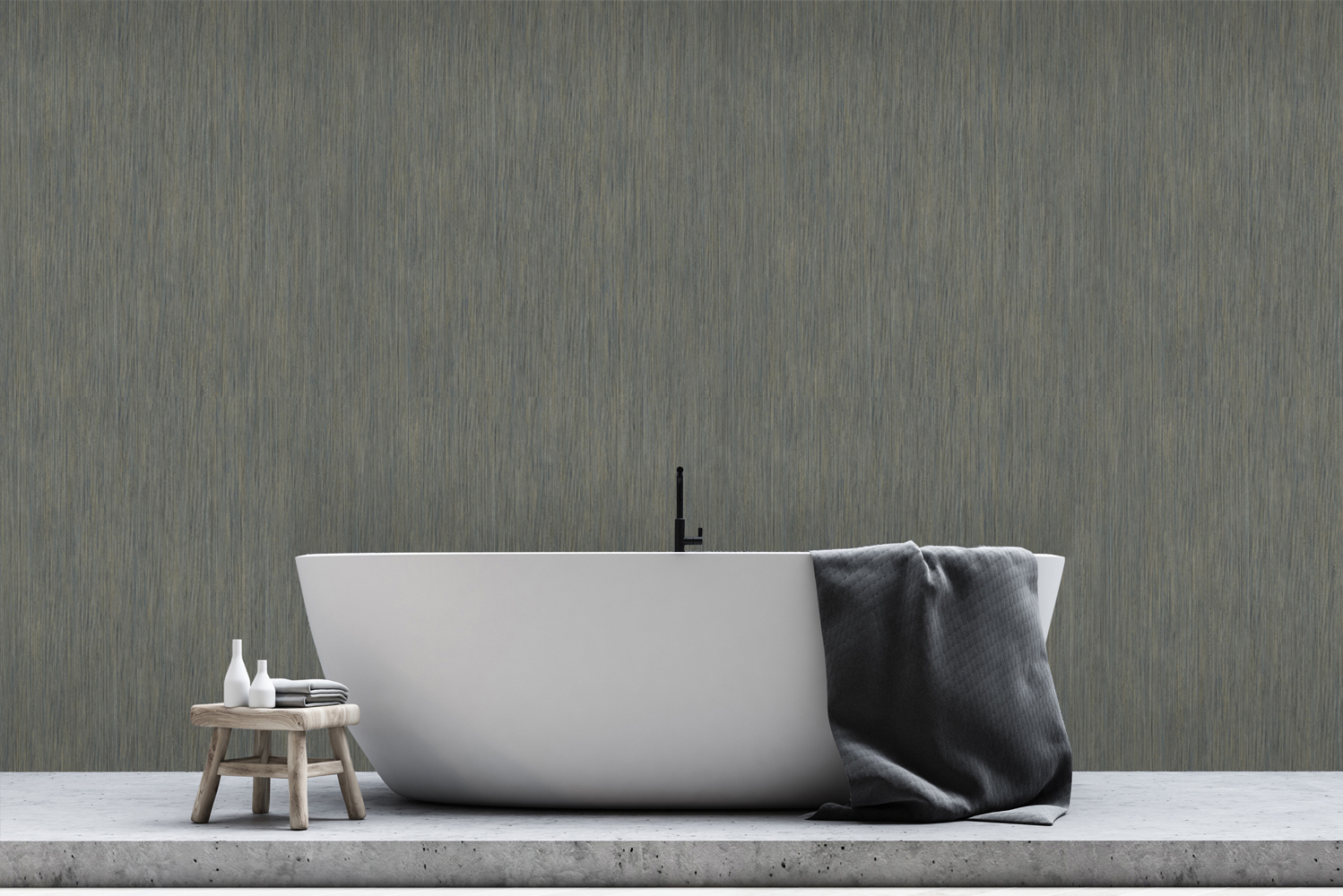 The Avant-Garde collection embodies the look and feel of Wood, metal and stone in a cleanable wallcovering.