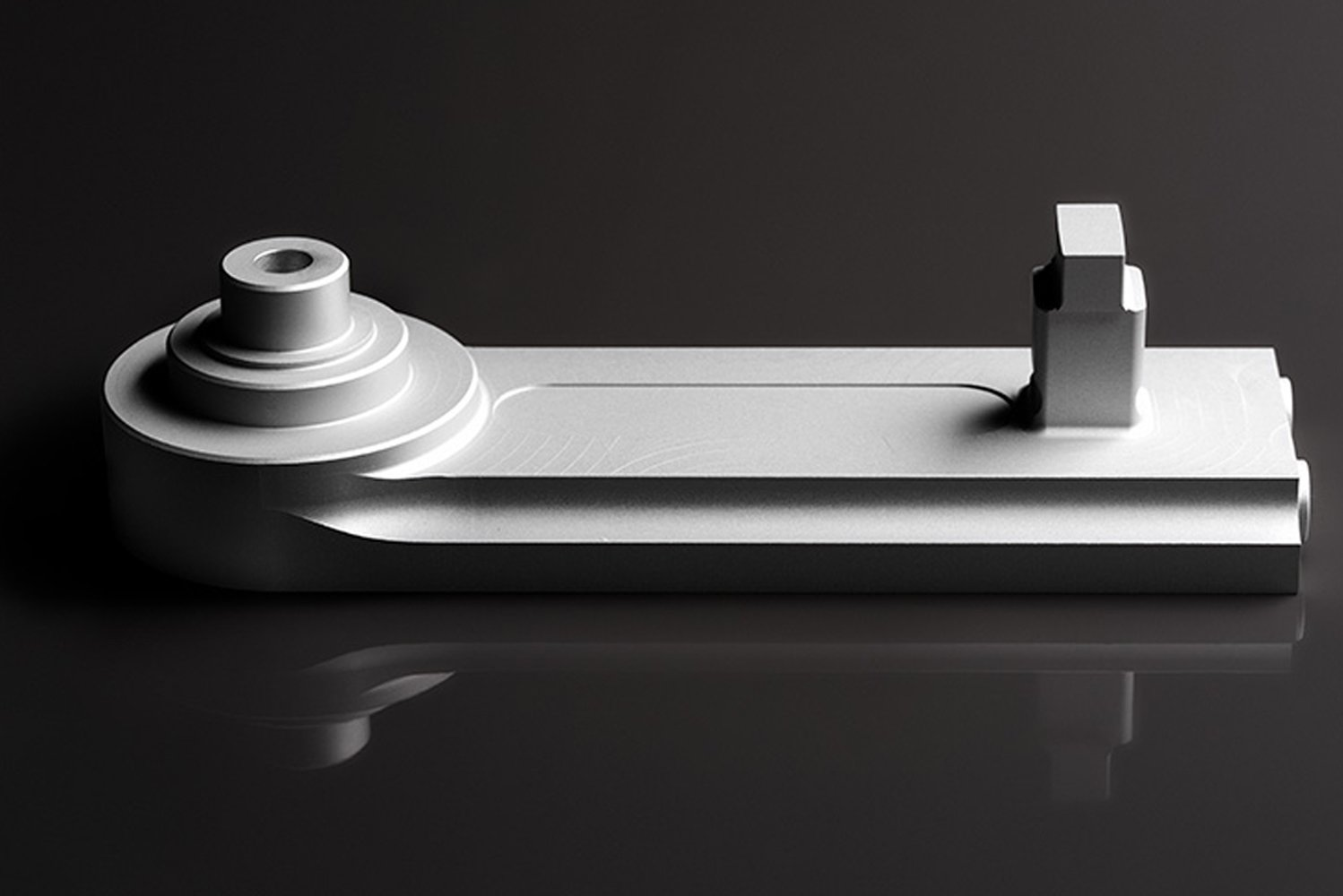 The system was designed with a simplified trolley and wheel, along with a new finishing process that works with the company's unique two-part track.