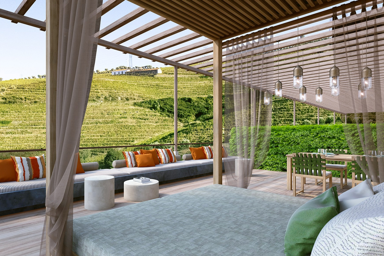 Work is in progress to add seven suites and three guestrooms at Six Senses Douro Valley, set to debut this summer.