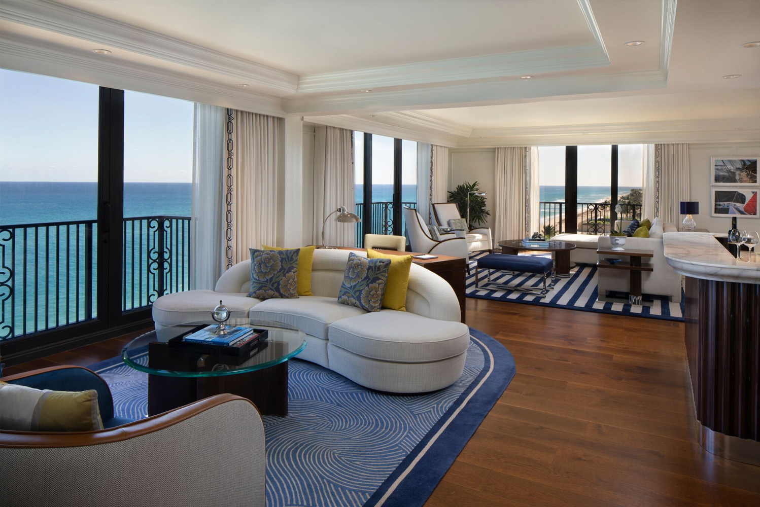 The Breakers Palm Beach unveiled renovations that saw changes made to the property's suites and the hotel's historic Ocean Course.