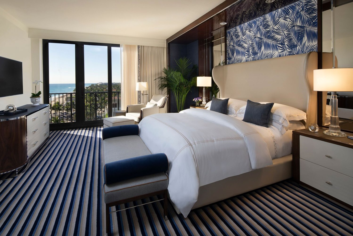 The Breakers rejuvenated its Imperial and Royal Poinciana Suites.