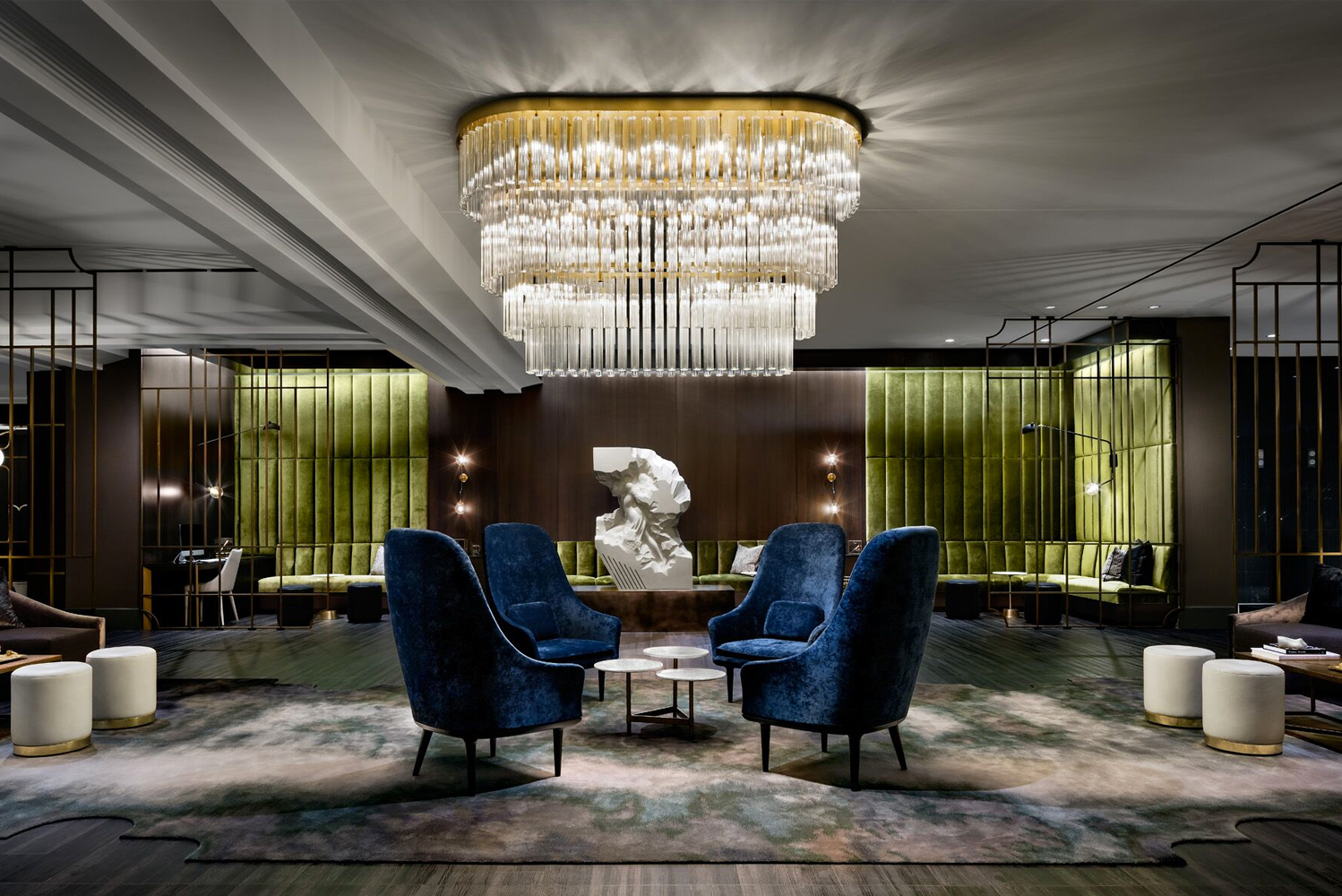 The Gwen, A Luxury Collection Hotel, Michigan Ave. Chicago, resides in the landmark McGraw-Hill building.
