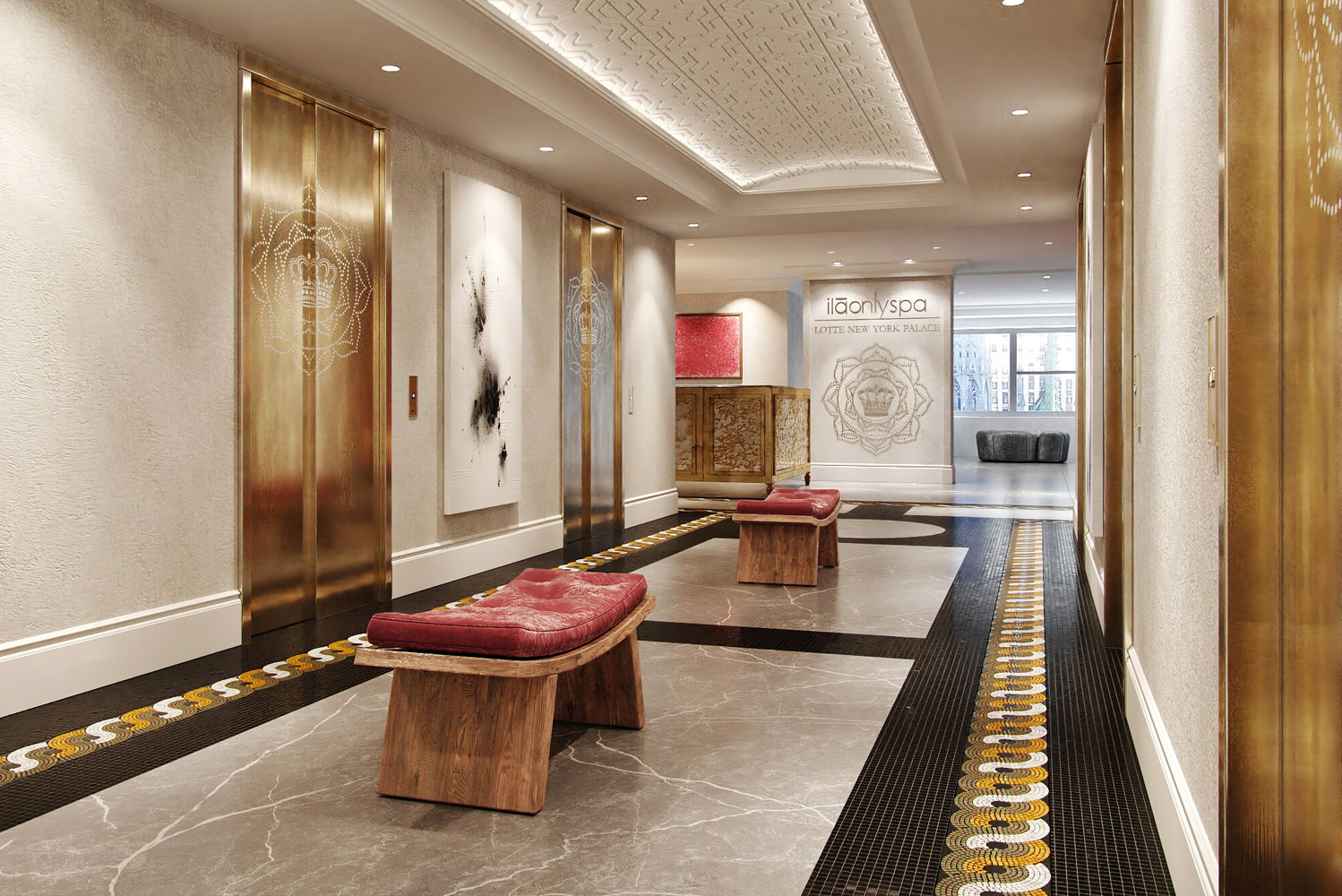 The designer and architect of the ila Spa at Lotte New York Palace is Anthony DiGuiseppe.
