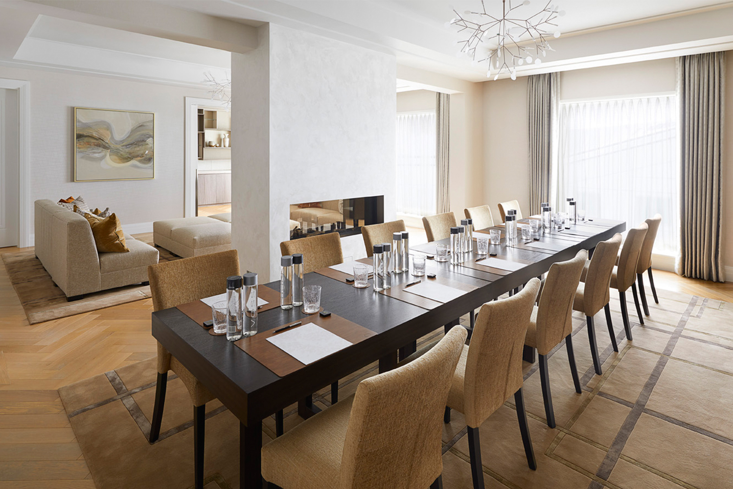 Four Seasons Hotel London at Ten Trinity Square launched two new events spaces – The Thames Penthouse and The City Penthouse – on the seventh floor of the historic Grade-II listed building.