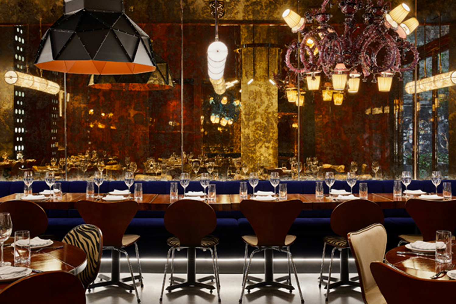 The 176-room property features eclectic interiors by LA-based designer Marcello Pozzi (of Marcello Pozzi Architecture & Design); a Latin-inspired restaurant; and two rooftop bars.