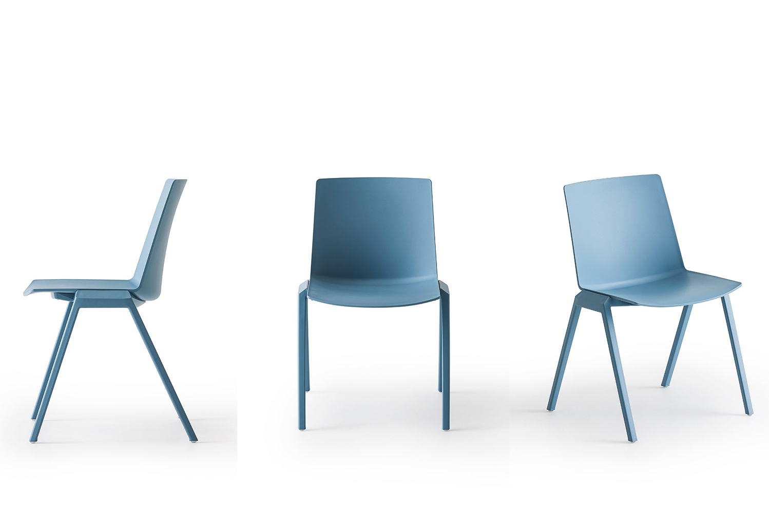 Magnuson Group launched a new indoor/outdoor chair, Joule, marked by clean design and a soft rounded backrest.