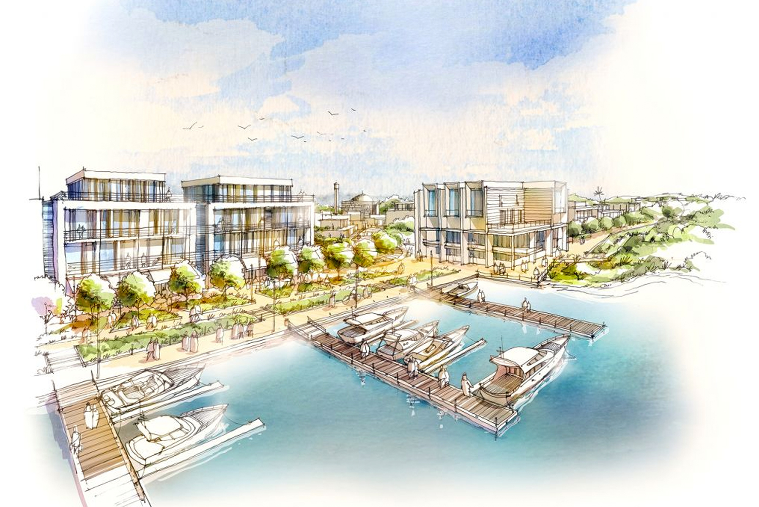 Jubail, an island located between Saadiyat Island and Yas Island to the north west of downtown Abu Dhabi, is set to be transformed by Jubail Island Investment Company (JIIC) in a £1 billion project.