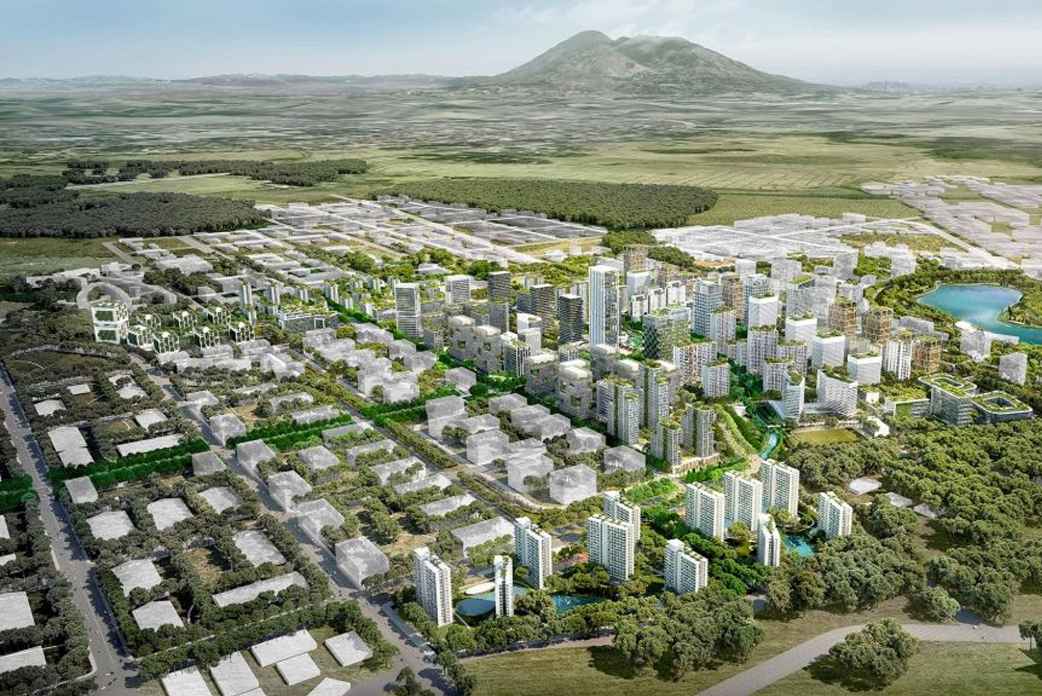 Work has started on a new city district masterplanned by Broadway Malyan in the Philippines.