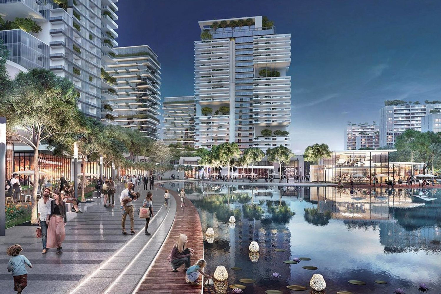 Broadway Malyan was commissioned by Filinvest Land to masterplan the 288-hectare district.