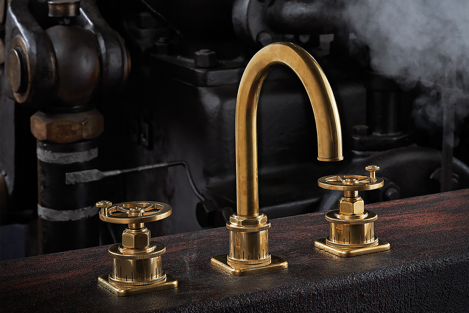 Introducing the Steampunk Bay series from California Faucets.