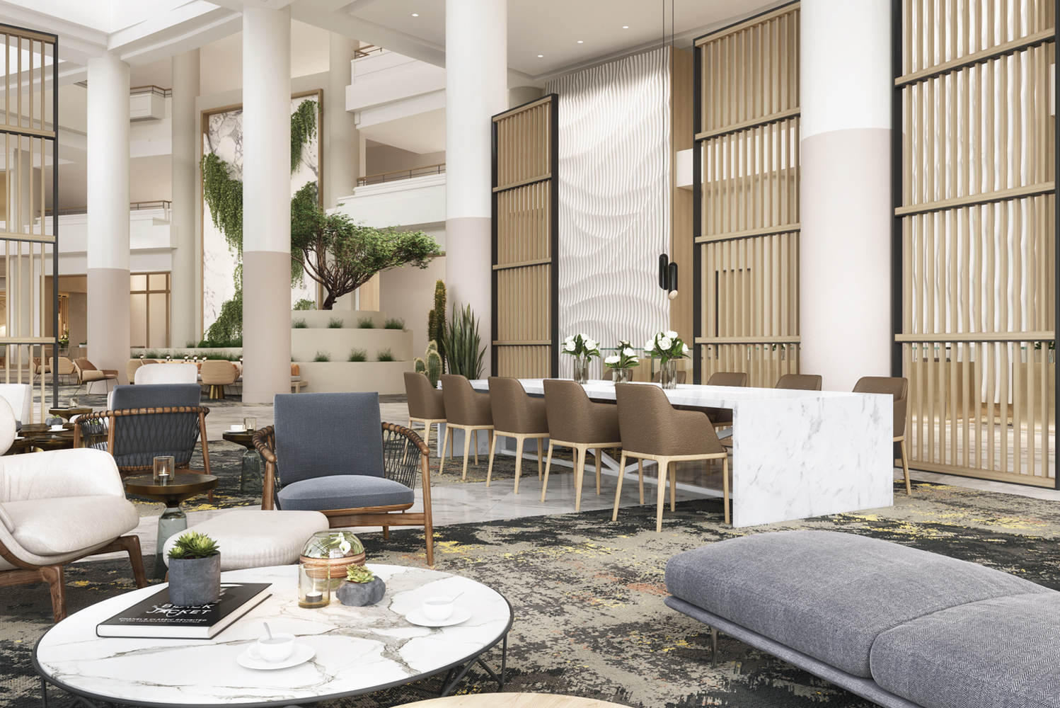 The property added a new dining venue, Navy Proof Food and Spirits; revitalized 469 guestrooms and suites; and refreshed the lobby space.