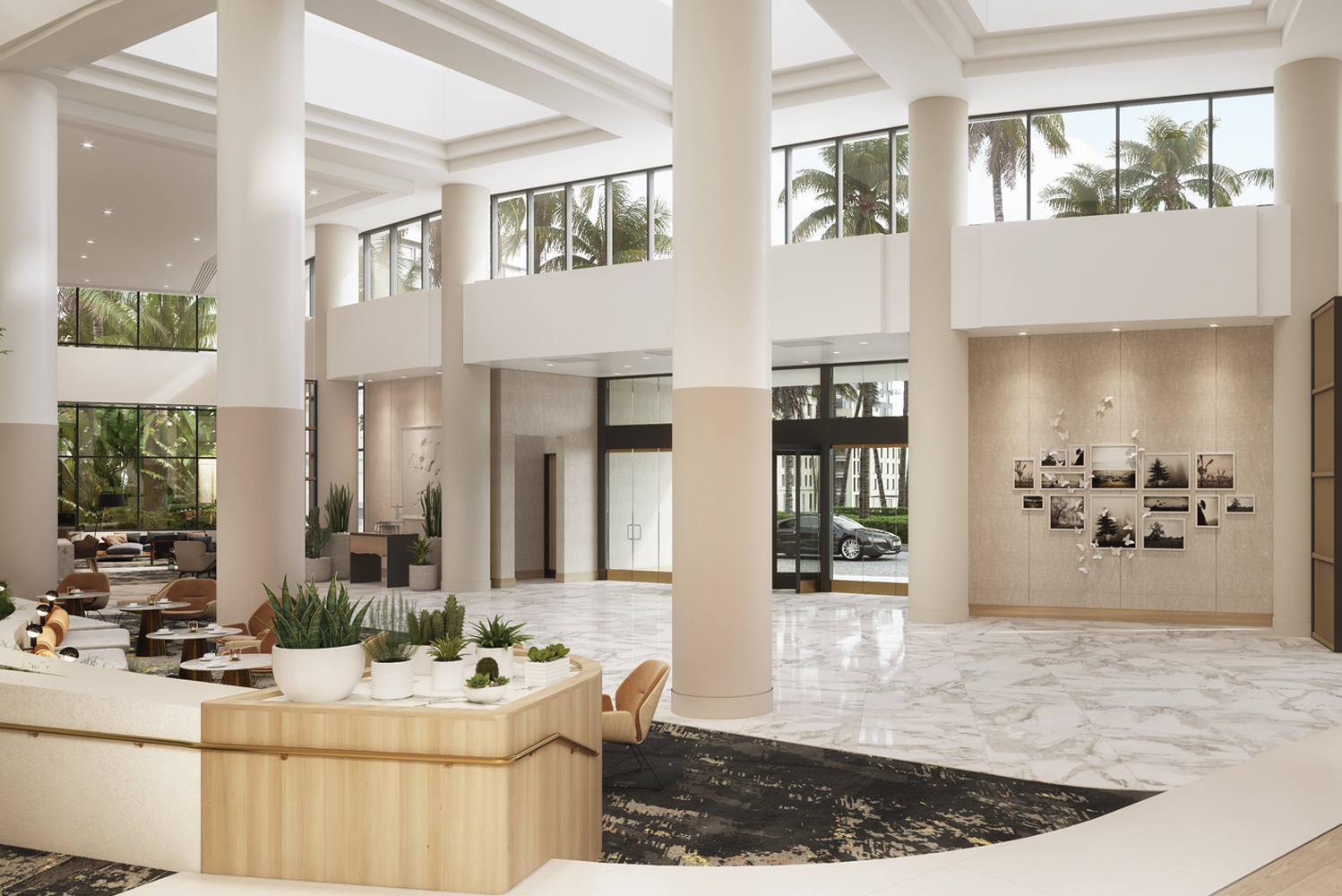 Involved in the transformation of the property originally built in 1988 were architect Houston Tyner and designer Vanrooy Creative Group.