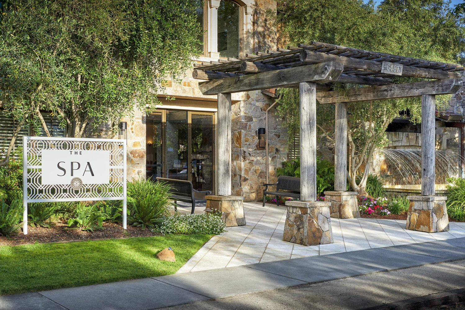 The Estate Yountville unveiled the redesign of its spa.