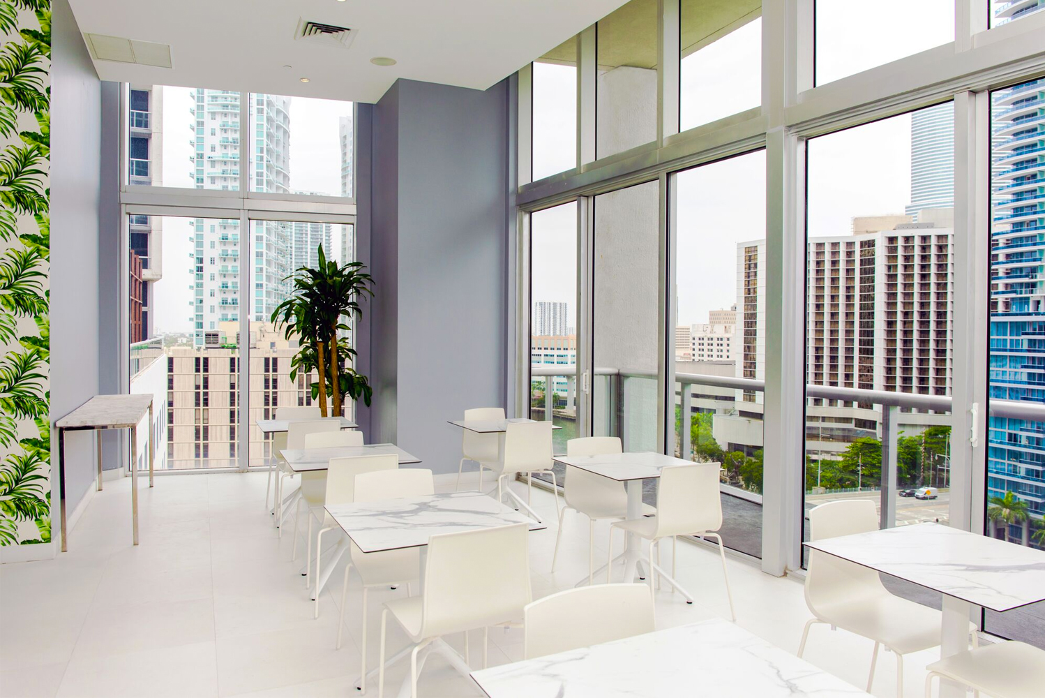W Miami, a property located in the heart of Brickell, opened the hotel's WET Deck Café and introduced a new poolside menu.