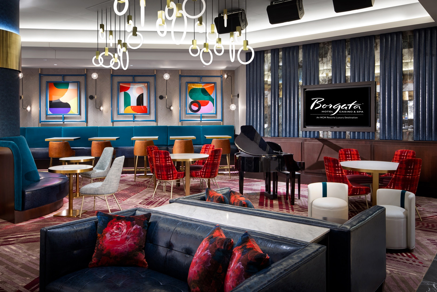 With interior design by Avenue and architecture by Nelson Worldwide, the scene will present a fresh take on classic Art Deco with undertones in a polished speakeasy ambiance. Photo credit: Avenue Design