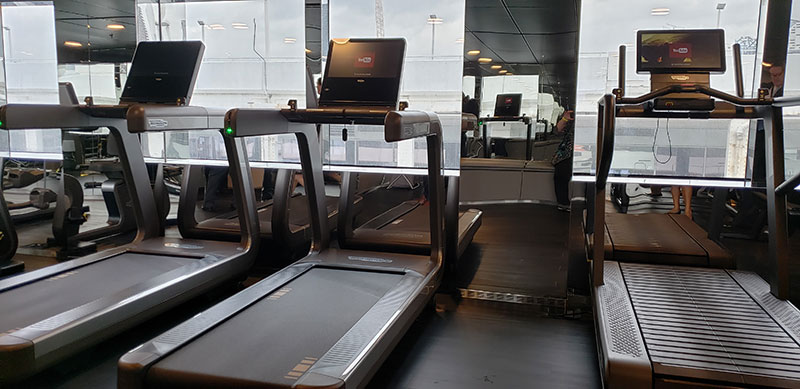 Fitness Center // Photo by Susan J. Young