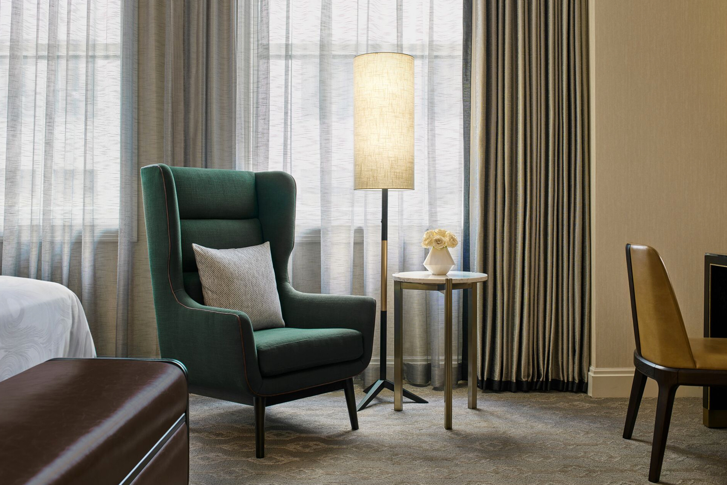 JW Marriott Chicago will remain open for the duration of the renovation program, which is anticipated to be completed by Spring 2020.
